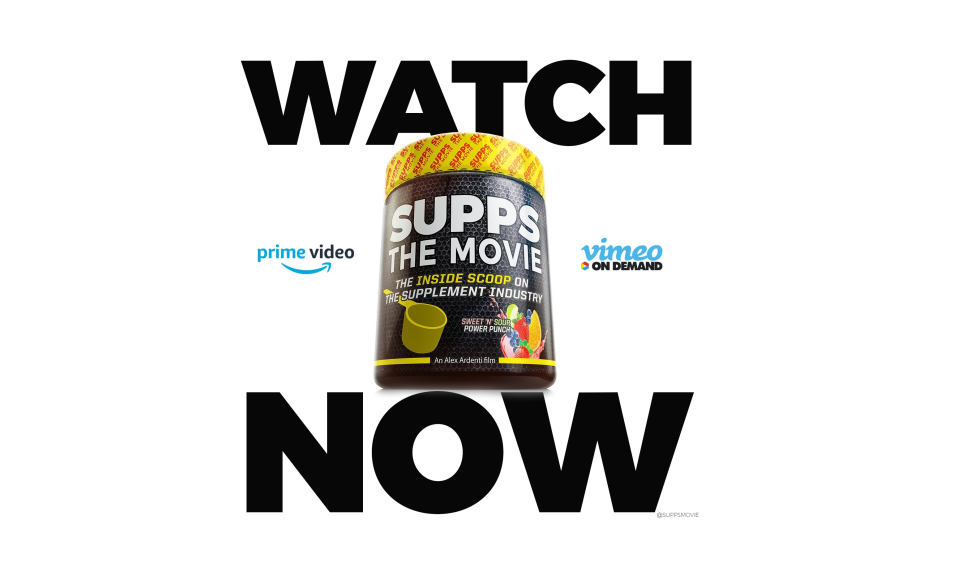 SUPPS: The Movie Is Out!